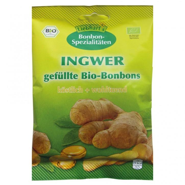 Ingwer Bio-Bonbons Liebhart´s 100g