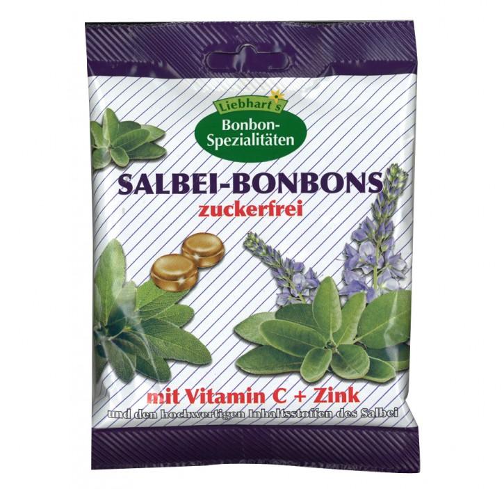 Salbei-Bonbons zuckerfrei Liebhart´s 50g