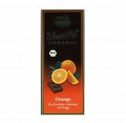 Bio-Orangen-Zartbitter-Schokolade Liebharts 100g