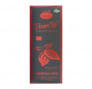 Bio-Edelbitter-Schokolade, 99% Kakaoanteil Liebharts 100g