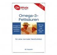 OMEGA 3 FETTSAUREN KAPSELN Dr.Wolz 60Stk