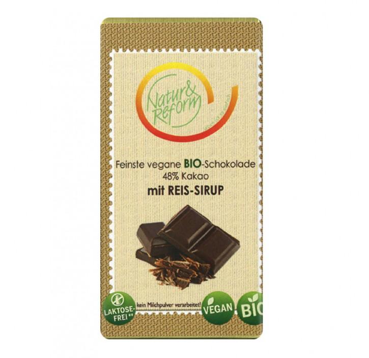 Bio Schokolade mit Reissirup 65g