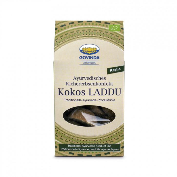 Laddu Kokos bio 120g für Kapha Govinda