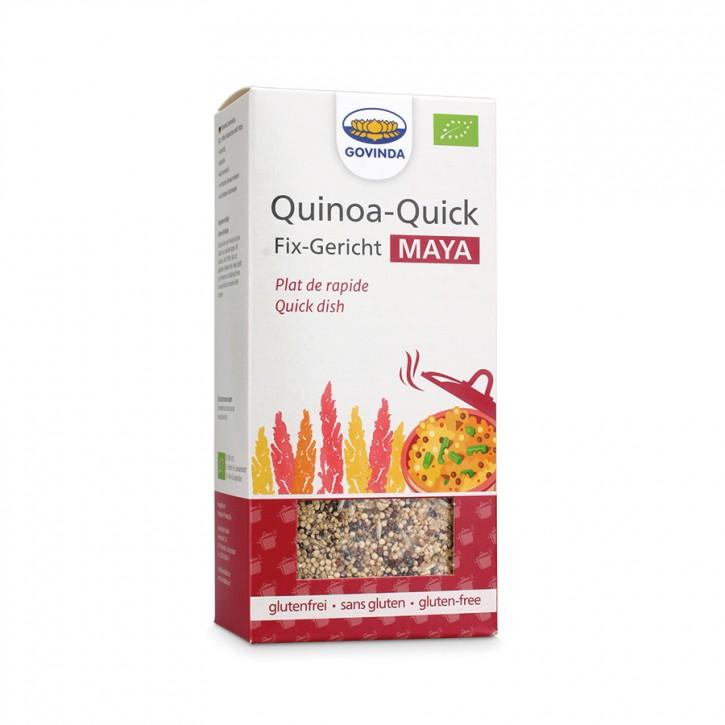 Quinoa-Quick Maya rot bio 500g Govinda