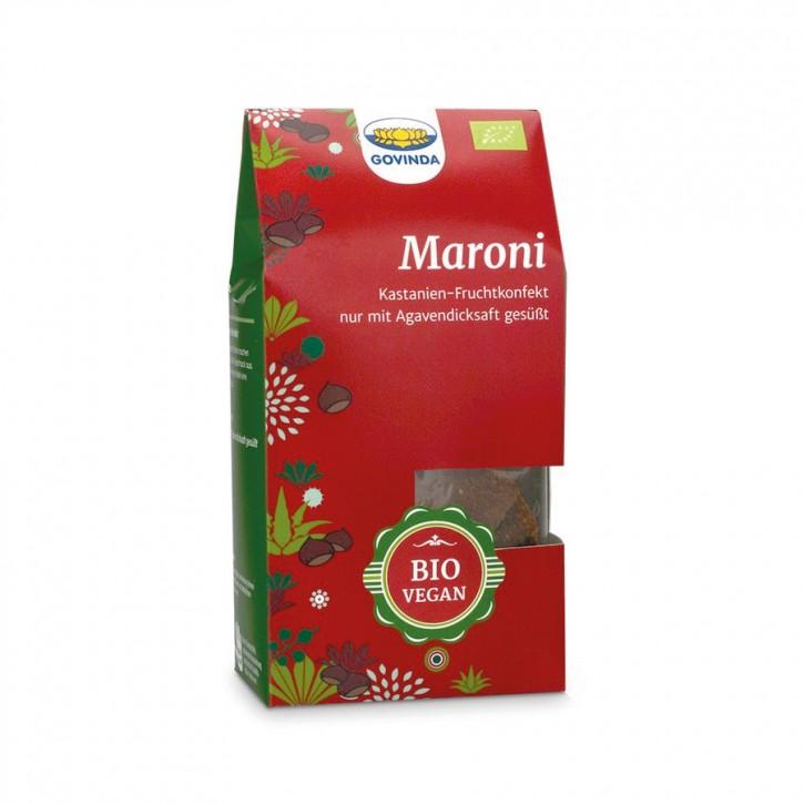 Konfekt Maroni bio 100g Govinda