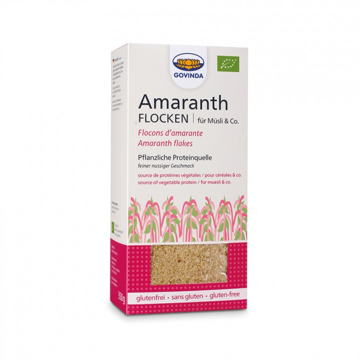 Amaranth-Flocken bio 350g Govinda