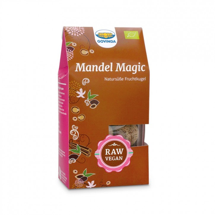 Mandel Magic Kugeln bio 120g Govinda