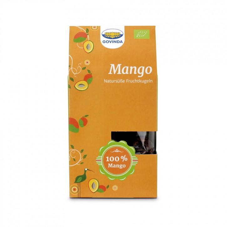 Frucht-Kugeln Mango bio 120g Govinda