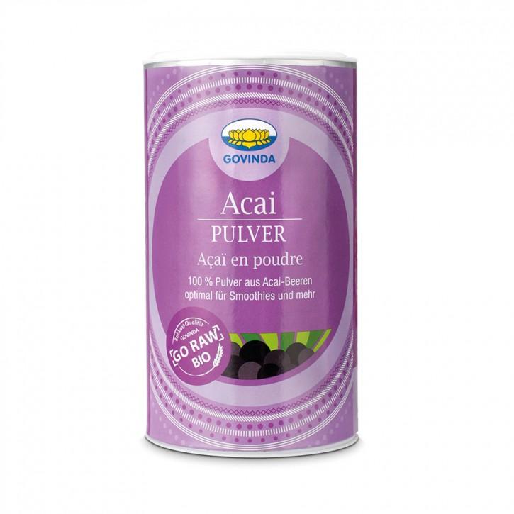 Acai-Frucht Pulver bio 100g Govinda