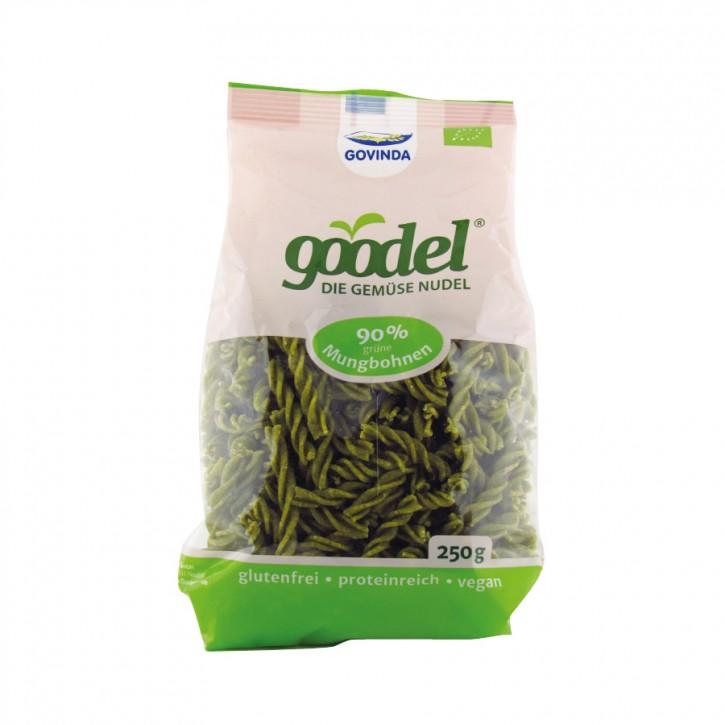 """Goodel Proteinnudeln """"Mungbohne-Leinsaat"""" bio 250g Govinda"""
