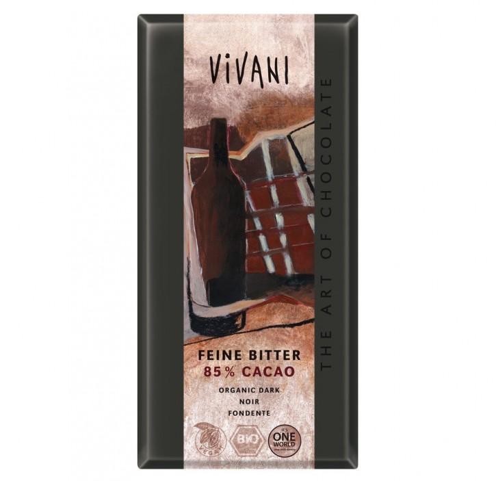 Feine Bitter 85 % Cacao  100g