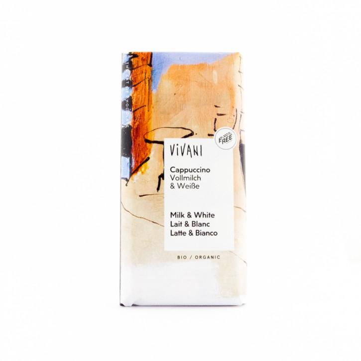 Schokolade Cappuccino Vivani 100g