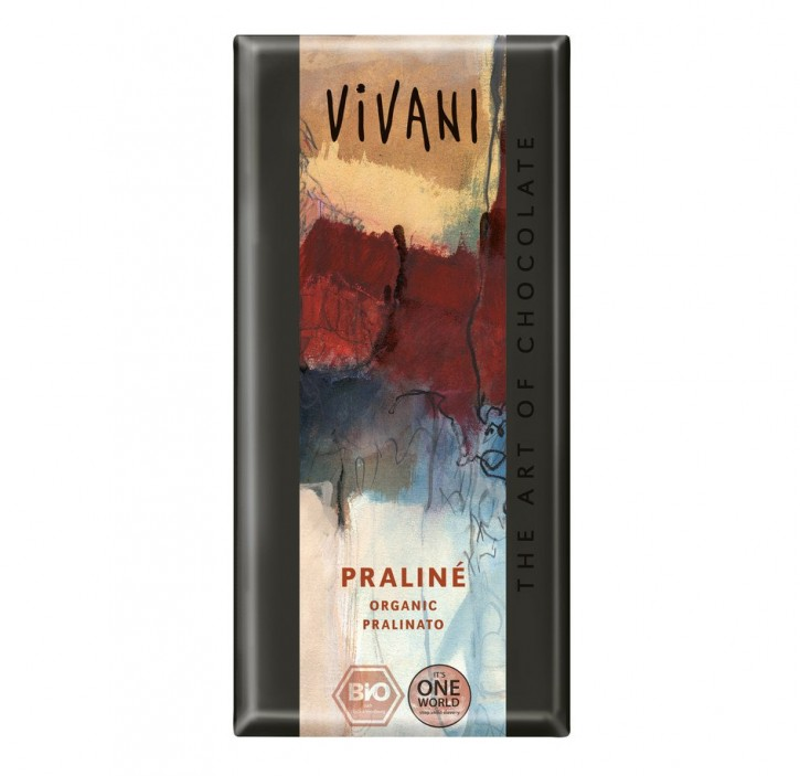 Praliné Schokolade bio Vivani  100g