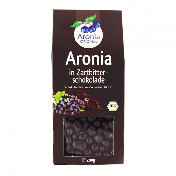 Bio Aroniabeeren in Zartbitterschokolade 200g
