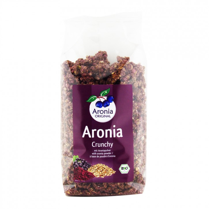 Bio Aronia Crunchy 375g