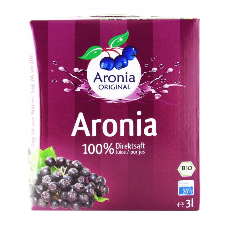 Bio Aronia Muttersaft  3l