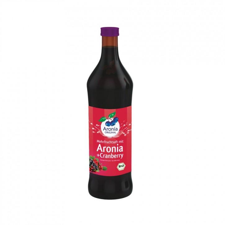 Aronia + Cranberry Direktsaft bio 700ml Aronia Original