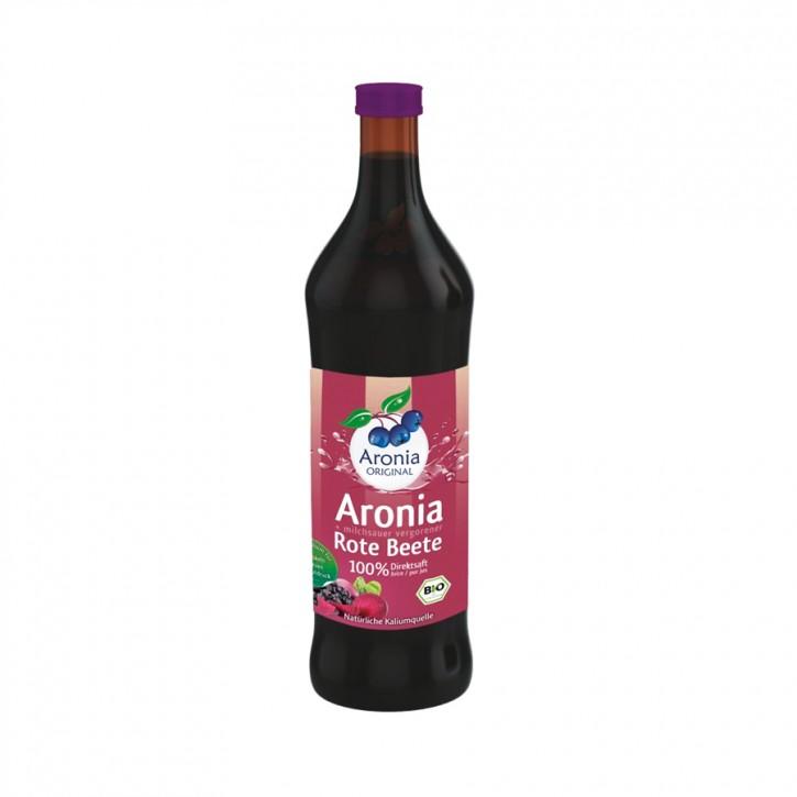 Aronia + Rote Beete Direktsaft bio 700ml Aronia Original