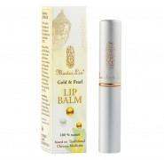 Gold & Pearl Lip Balm  MasterLin 1Stk