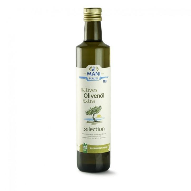 Bio Olivenöl nativ extra 500ml Mani