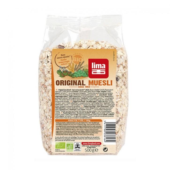 Original Müsli bio 500g Lima