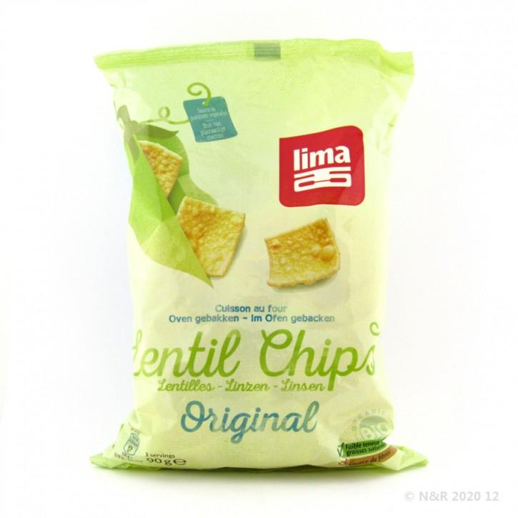 Lima LINSEN CHIPS natur kbA 90g