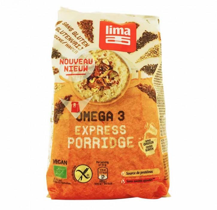 Lima EXPRESS HAFERFLOCKEN OMEGA 3 kbA 350g glutenfrei