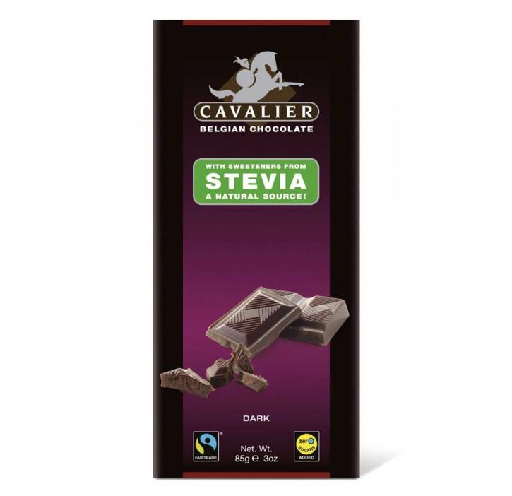 Stevia Schokolade zartbitter 85g