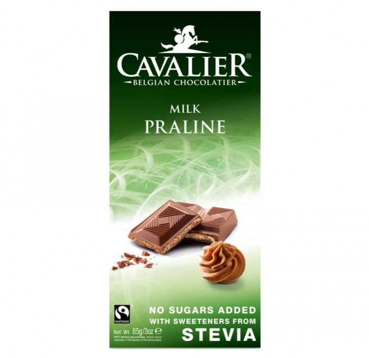 Stevia Schokolade Vollmilch Praline 85g