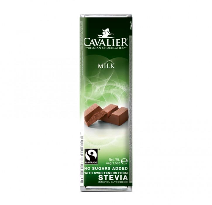 Stevia Milch-Schokoladeriegel  40g Cavalier