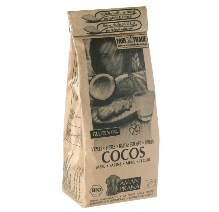 Cocosmehl bio Aman Prana, 500g