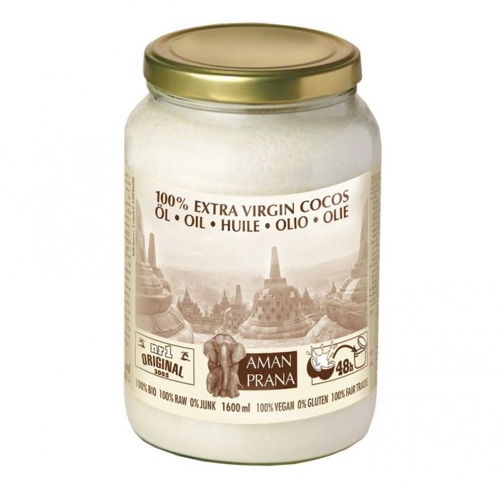 Kokosöl nativ (kaltgepresst), 1600ml
