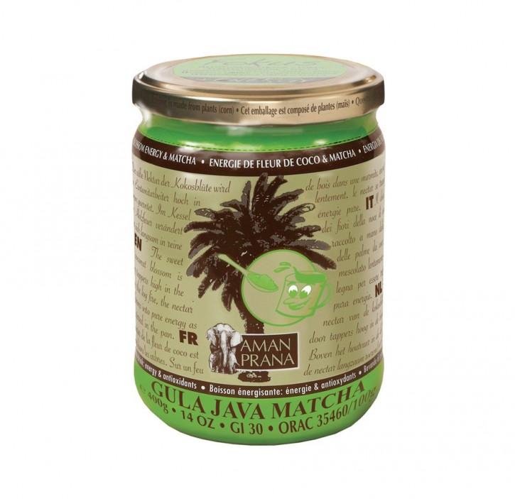 Kokosblüten Zucker & Matcha Tee  400g