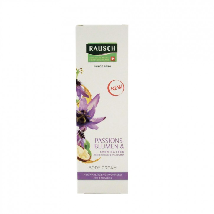 Passionsblume Body Cream 150ml Rausch