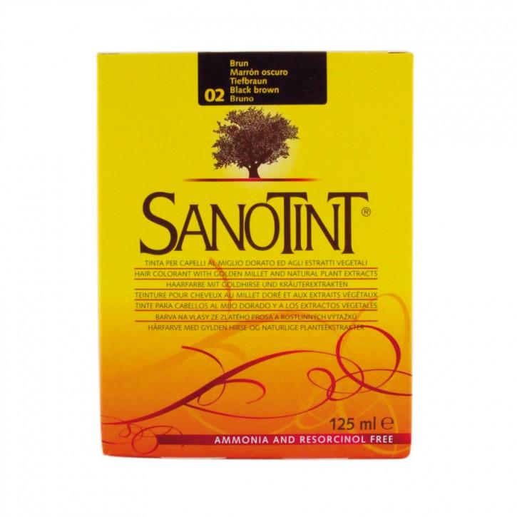 Sanotint Classic Tiefbraun 02 125 ml Sanotint