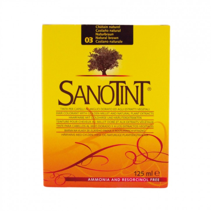 Sanotint Classic Naturbraun 03 125ml Sanotint
