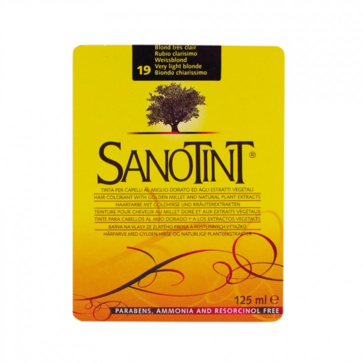 Sanotint Classic Weissblond 19 125ml Sanotint