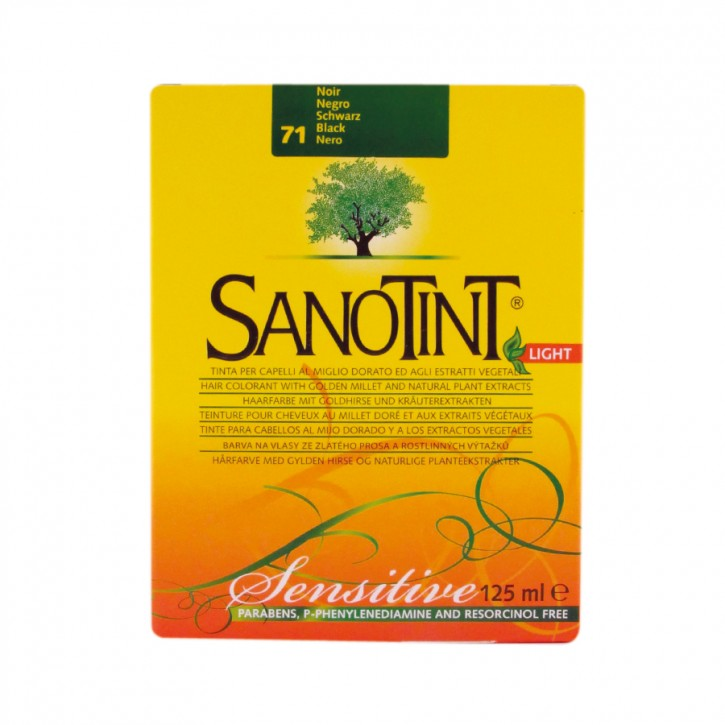"Sanotint Sensitiv ""Light"" Schwarz 71 125ml Sanotint"
