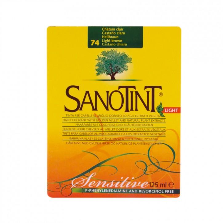 """Sanotint Sensitiv """"Light"""" Hellbraun 74 125ml Sanotint"""