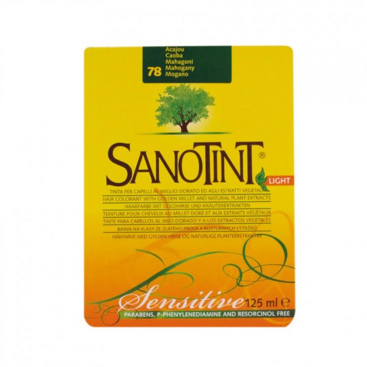 "Sanotint Sensitiv ""Light"" Mahagoni dunkel 78 125ml Sanotint"