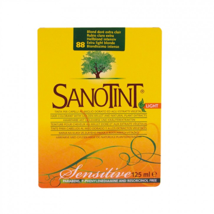 "Sanotint Sensitiv ""Light"" Honigblond mittel 88 125ml Sanotint"