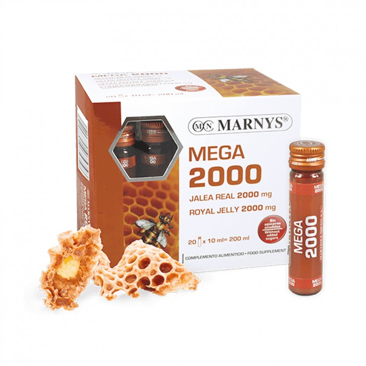Marnys Geleé Royal Mega 2000 20x10ml