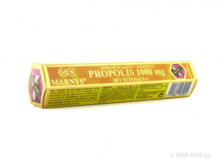 Marnys PROPOLIS 1000mg mit Echinazea Kapseln 8-eckig