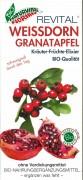 Revital WEISSDORN GRANATAPFEL Kräuter früchte Elixier Florian Natur. 330ml