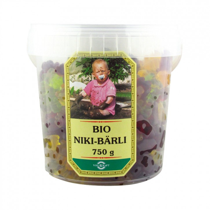 Bio Niki Bärli Box 750g Vollkraft