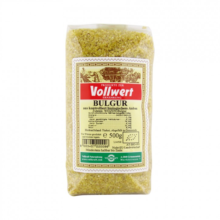 Bio Bulgur 500g Vollkraft