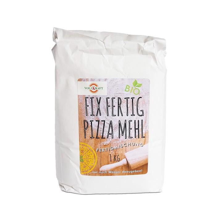 Fix Fertig Pizza Mehl bio 550g