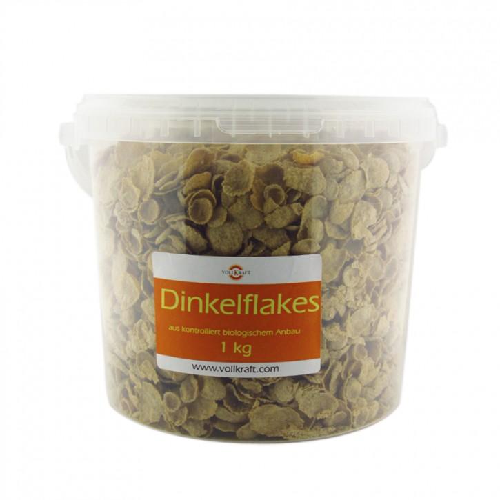 Dinkelflakes bio Box 1kg Vollkraft