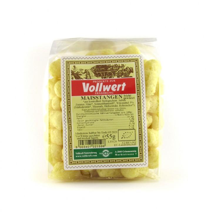 Maisstangen leicht würzig bio 55g Vollkraft