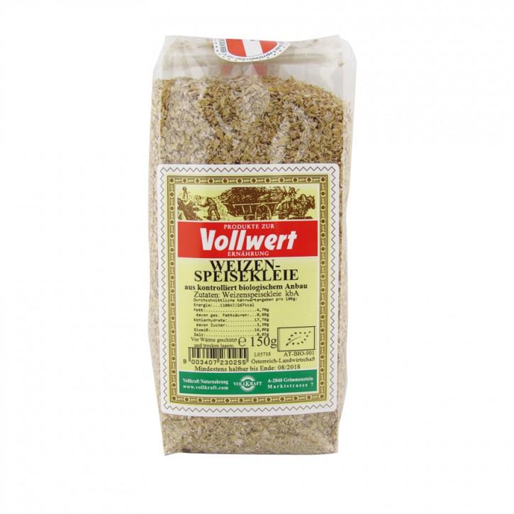 Weizen-Speisekleie bio 150g Vollkraft